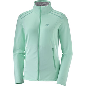 Salomon Discovery LT Jacket Women turquoise